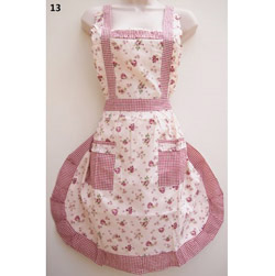 13 Daisy Rosy Country Style Apron