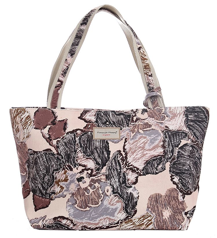 Arty Roses Velvet Bag + Matching Purse