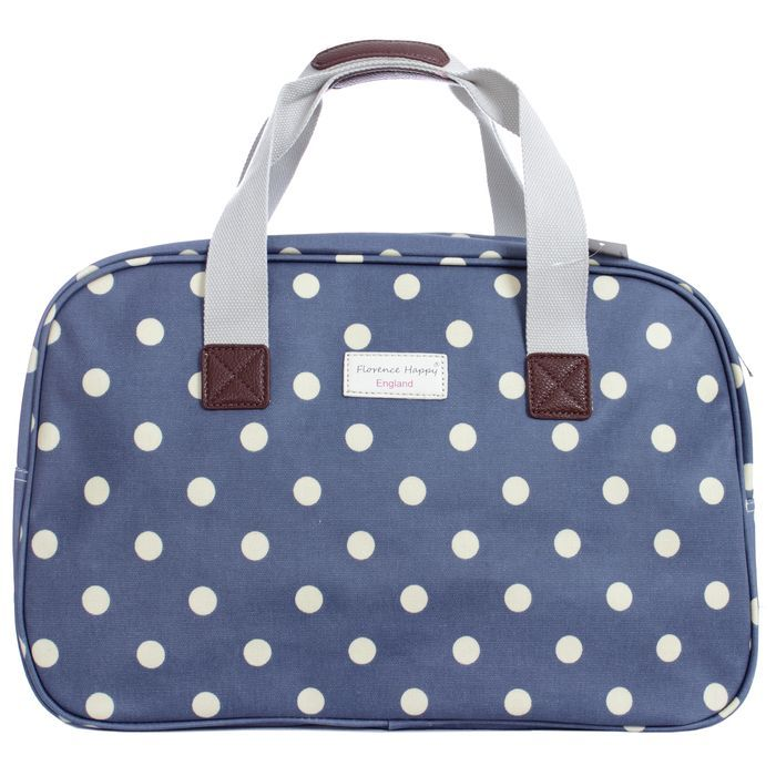 Jeans Blue Spot Holiday Oilcloth Bag