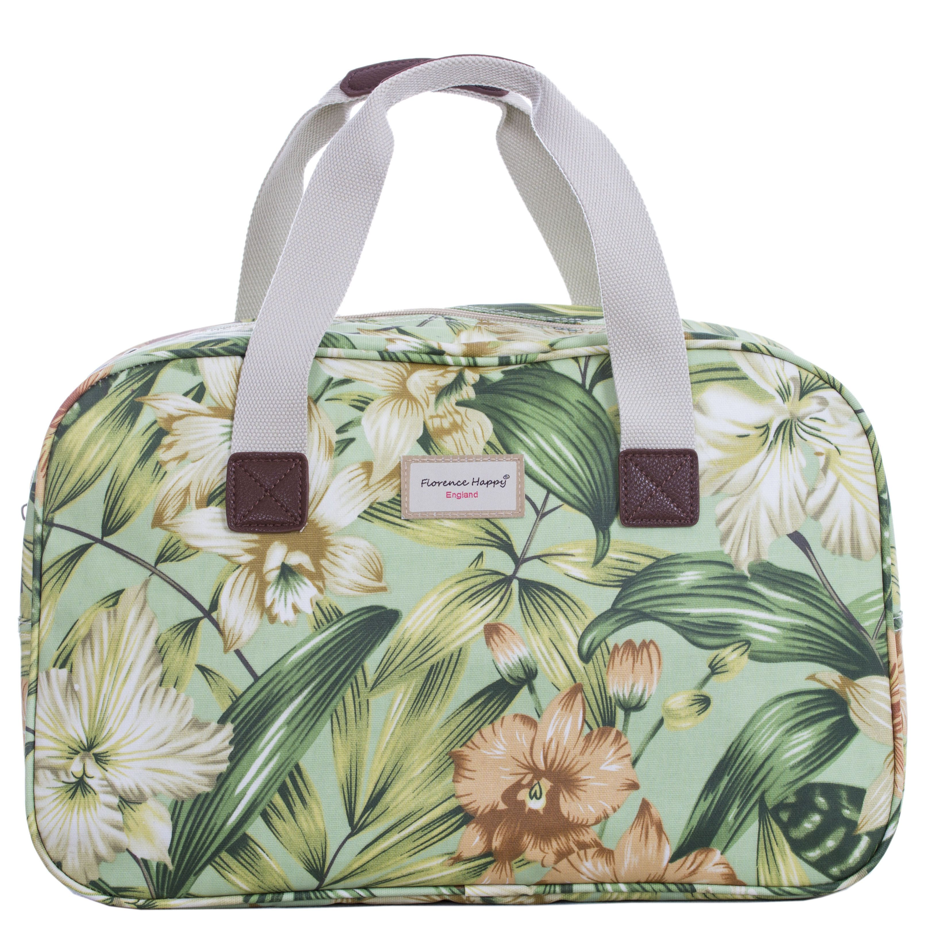 Wild Flowers Holiday Holdall Tote