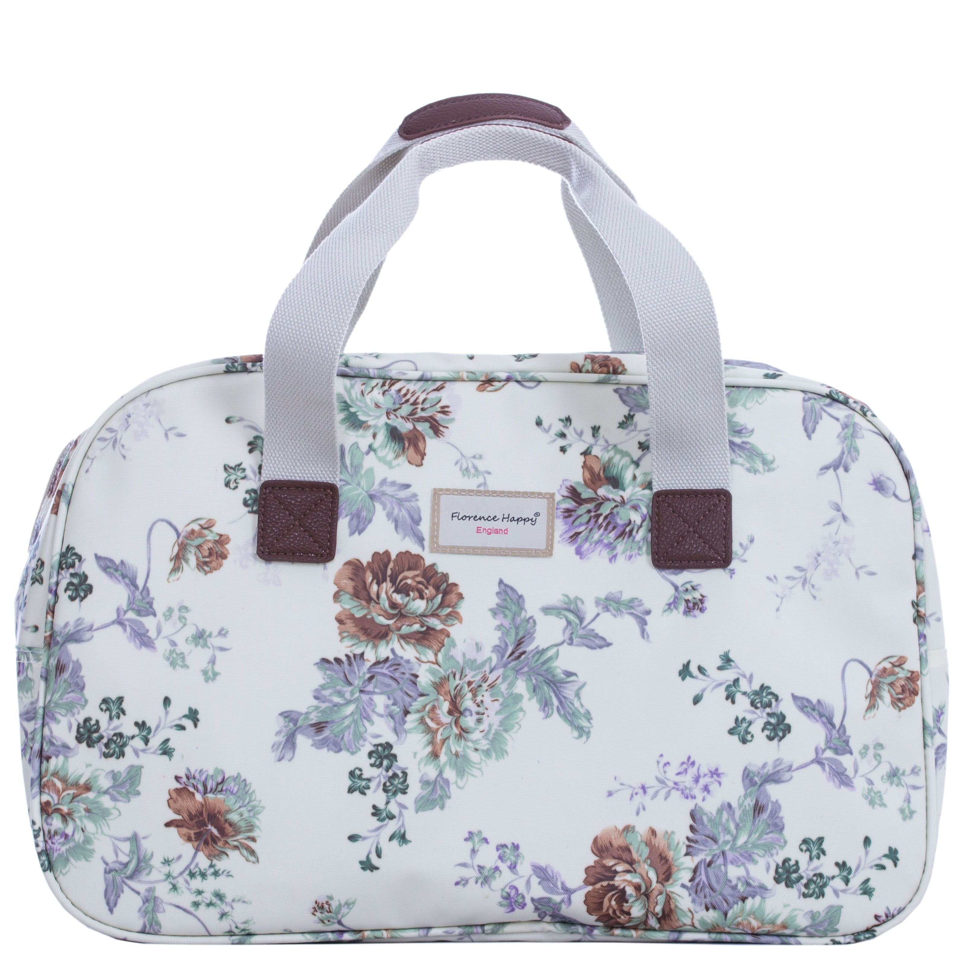 Hampstead Flowers Oilcloth Holiday Bag